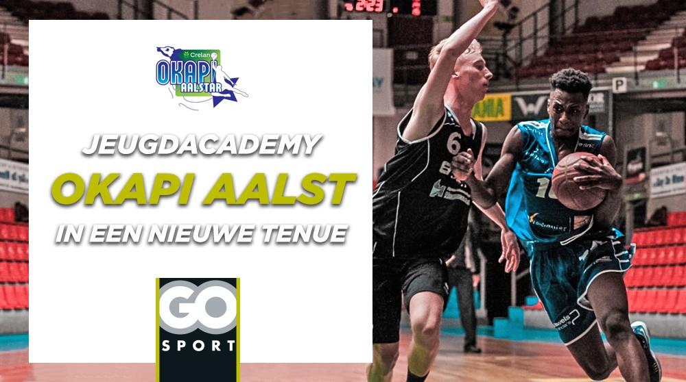 GO Sport steunt de Jeugdacademy van basketclub Okapi
