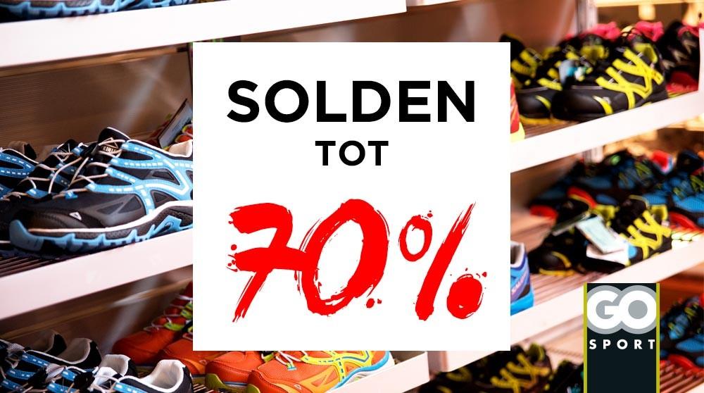 GO Sport: solden tot 70%!