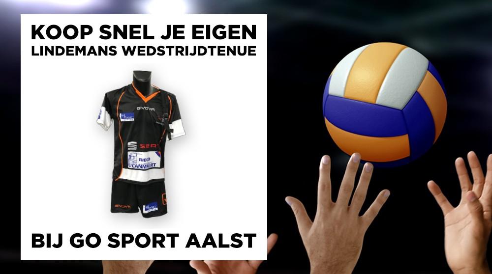 Klaar voor de beker van België? Koop je eigen Lindemans-tenue!