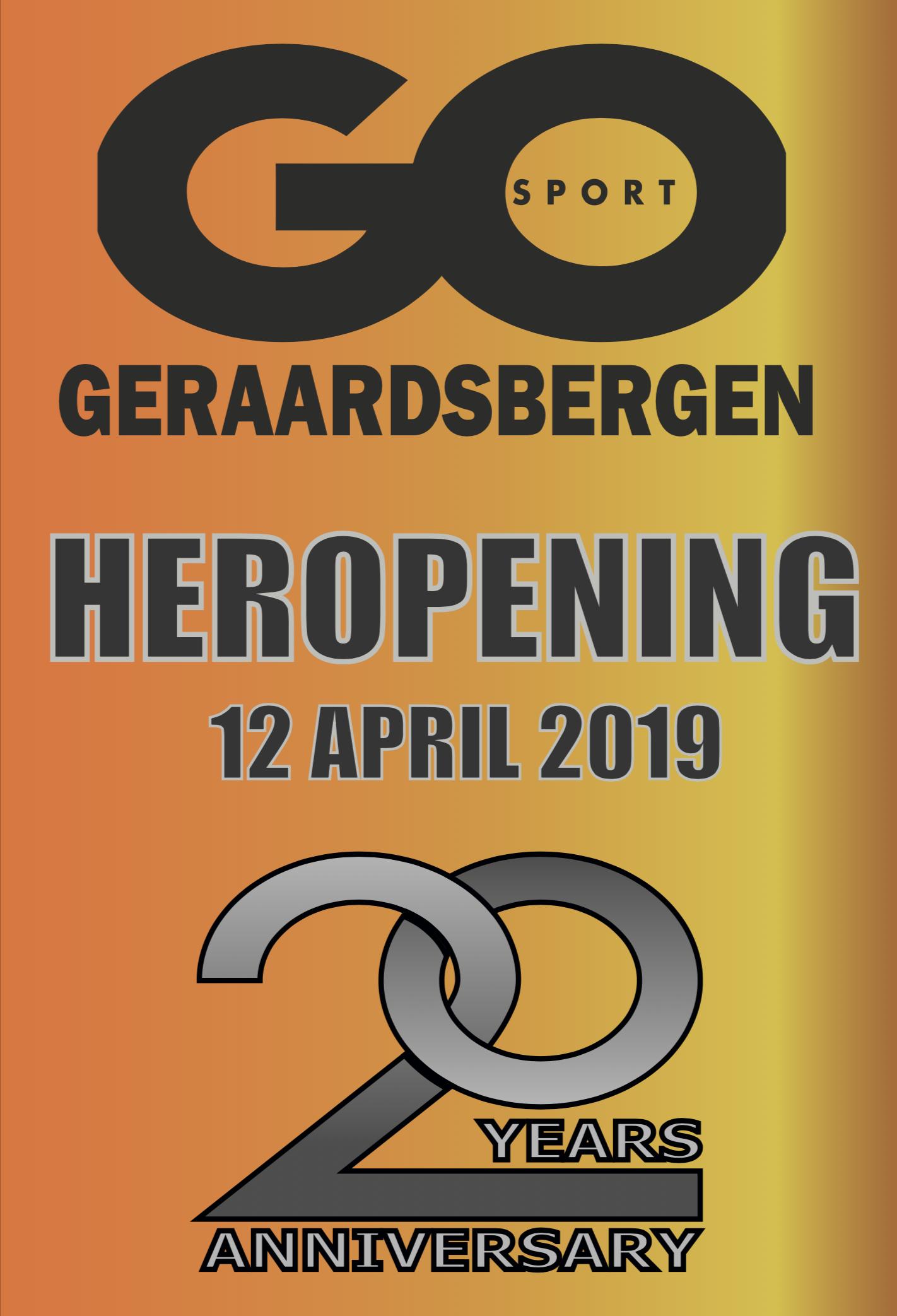 Heropening GO Sport Geraardsbergen