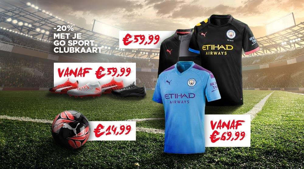 Koop voetbalartikelen aan de scherpste prijzen bij GO Sport