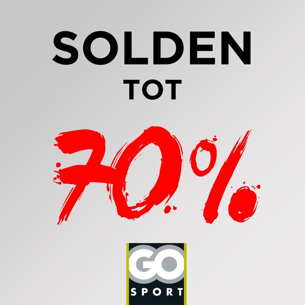 GO Sport solden tot 70%