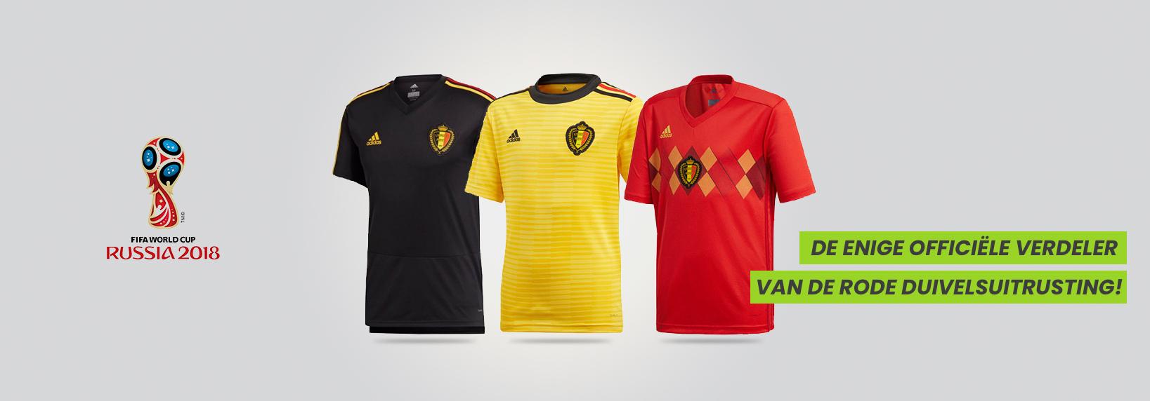 Officiële WK truitjes België