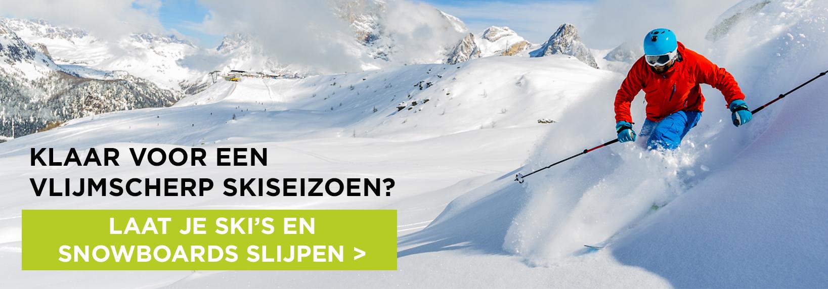 Laat je ski's slijpen bij GO Sport